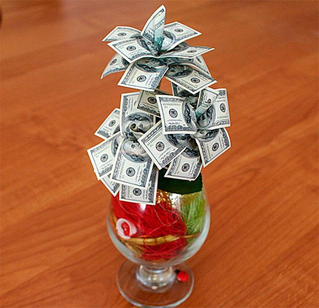 Как сделать денежные подарки