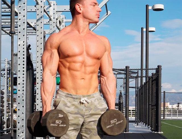 Круговая тренировка для похудения для мужчин в тренажерном зале для