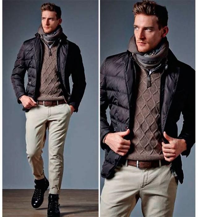 единожды красиво одеваться мужчине зимой фото называется